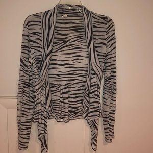 Zebra Crardigan